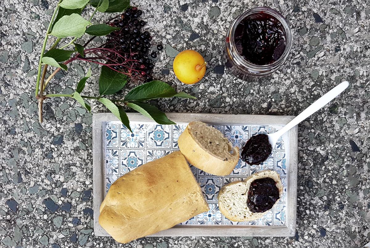Holunderbeeren-Birnen-Chutney Rezepte aus dem Garten