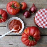 Tomaten Ketchup selber machen - Tomaten aus dem Garten