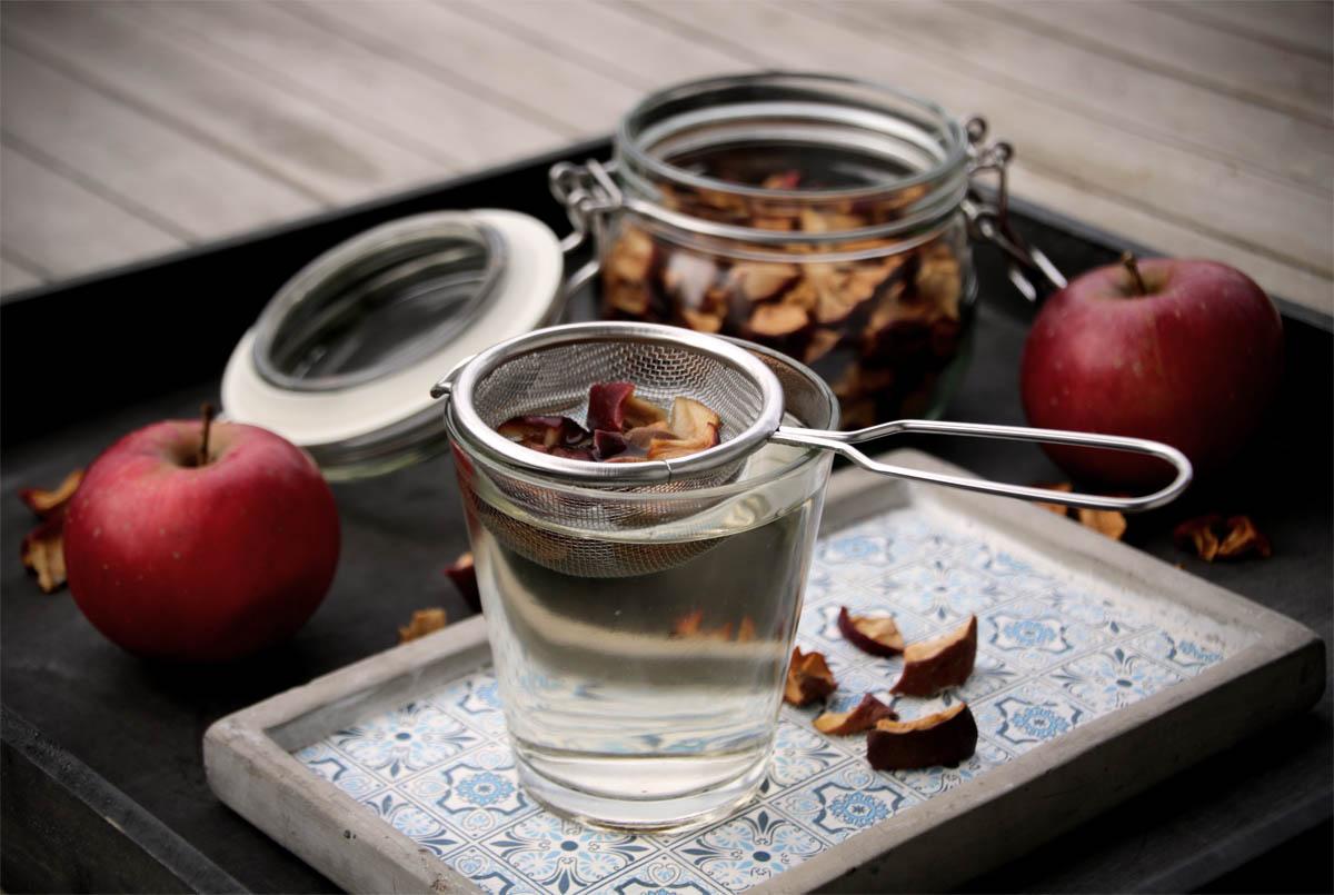Frisch fruchtiger Apfeltee