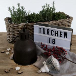 Grüneliebe Adventskalender Türchen 18