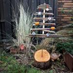 Vogelfutter Weihnachtsbaum DIY