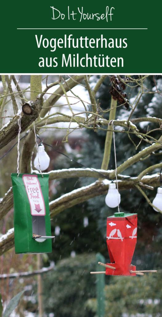 Do It Yourself | Vogelfutterhaus aus Milchtüten