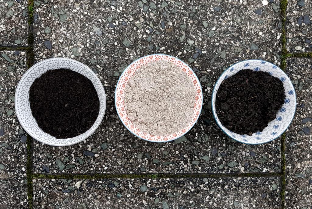 Anzuchtsubstrat - Kokoserde, Anzuchterde oder Substrat selber mischen