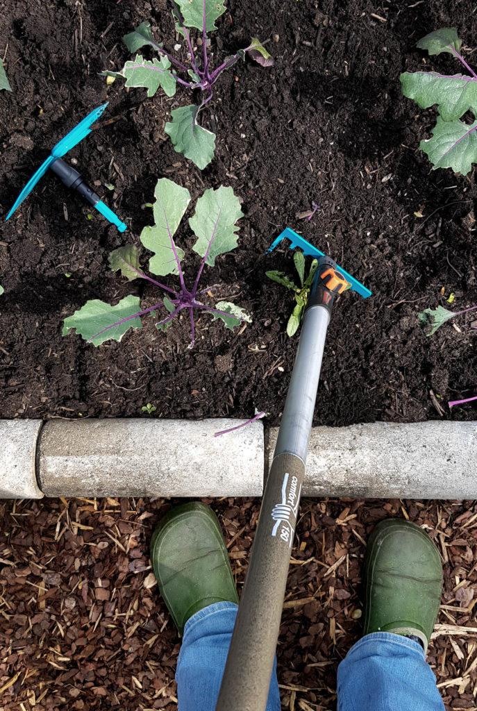 Werbung / Kleinrechen - Welche Gartengeräte benötigt man im Gemüsegarten? Gärtnern mit dem Gardena Combisystem