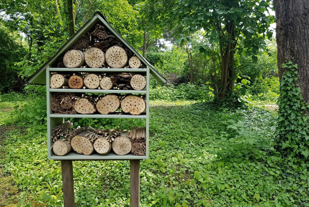 Insektenhotel - Offene Gartenpforte