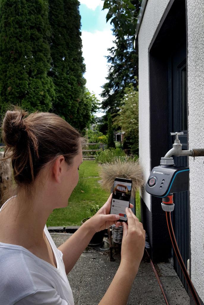 Werbung // Gardena Smart Water Control