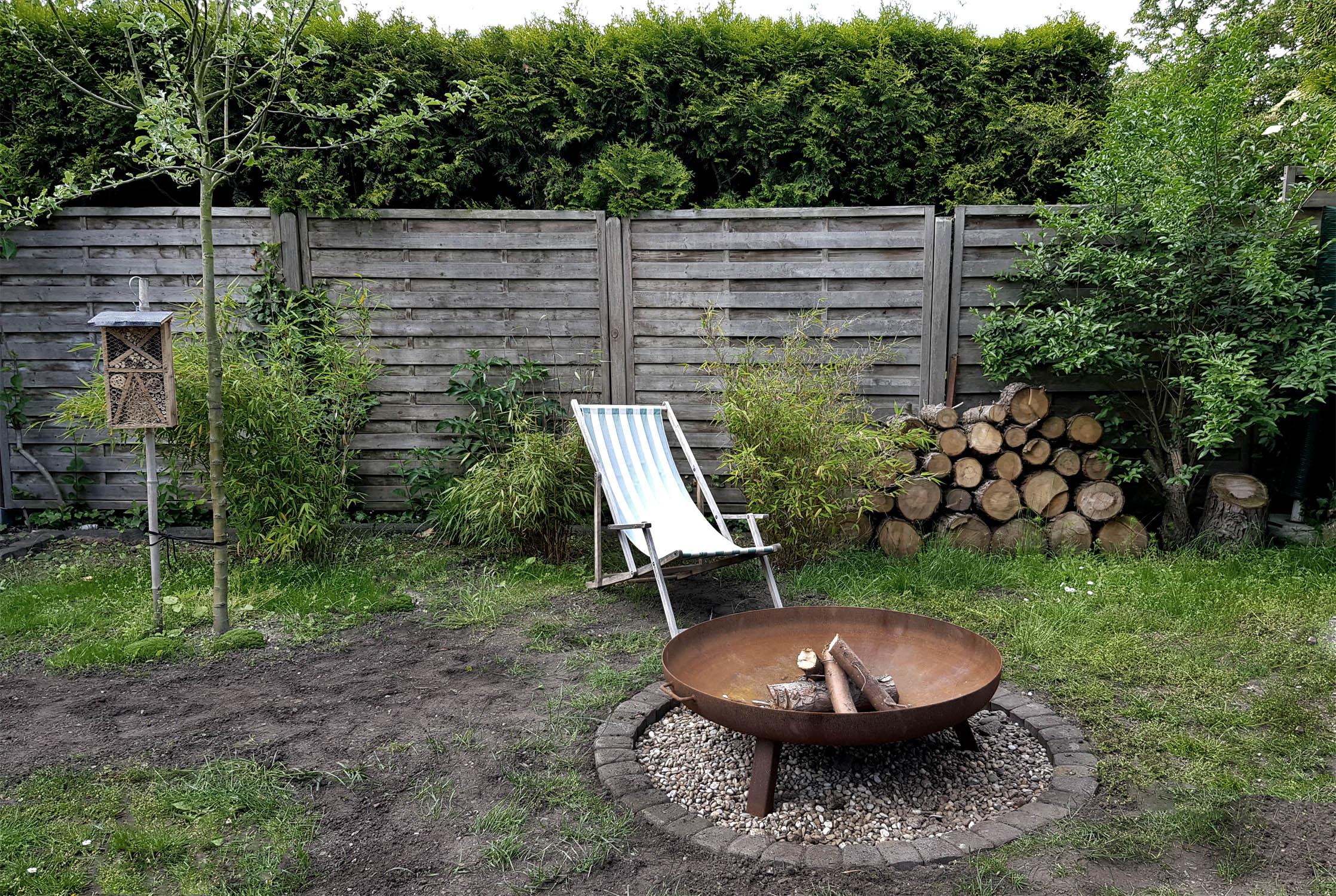 Feuerstelle bauen im Garten 08   grüneliebe