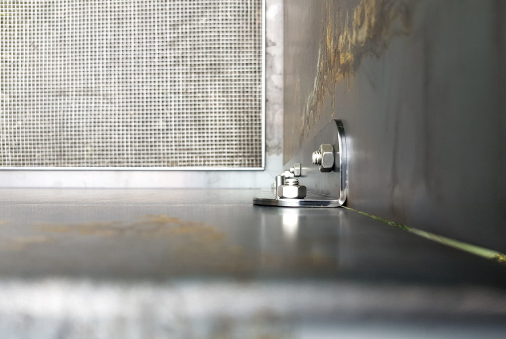 Aufbau Hochbeet aus Stahl TERENO