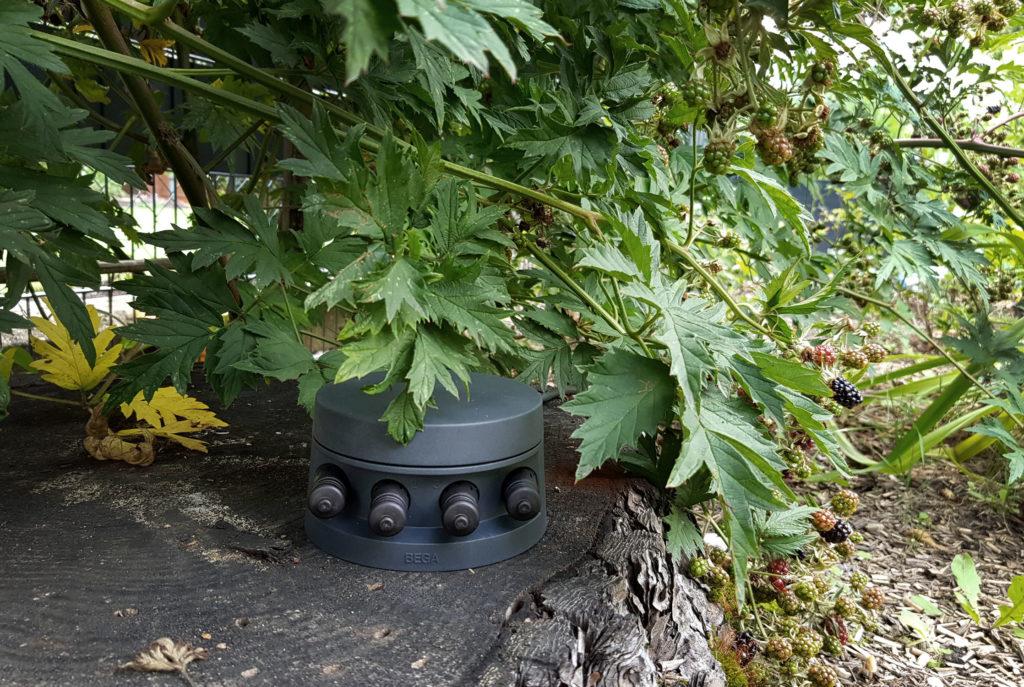 Lichtplanung im Garten mit BEGA Plug and Play Smarttower