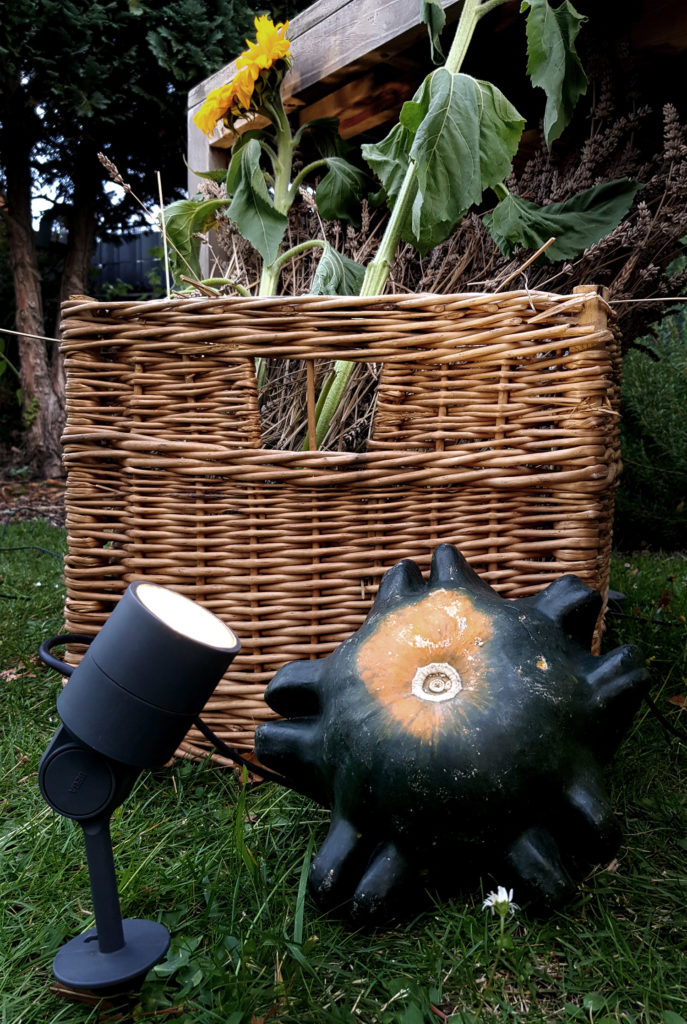Erntedankfest im eigenen Garten mit BEGA Gartenbeleuchtung