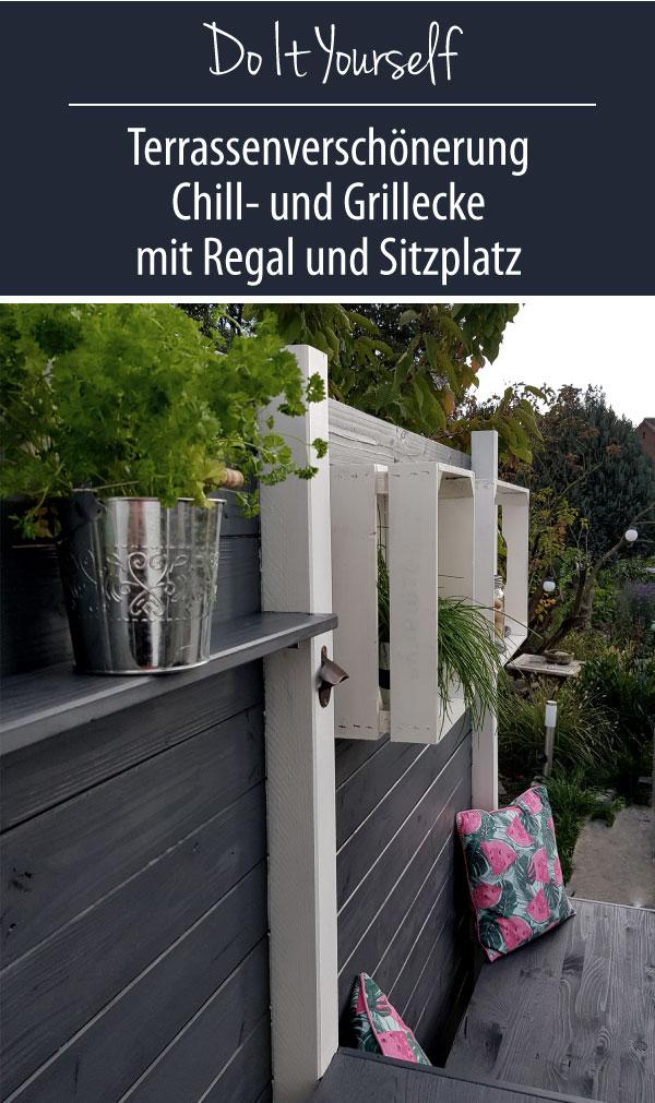 Chill- und Grillplatz als Terrassenverschönerung | DIY