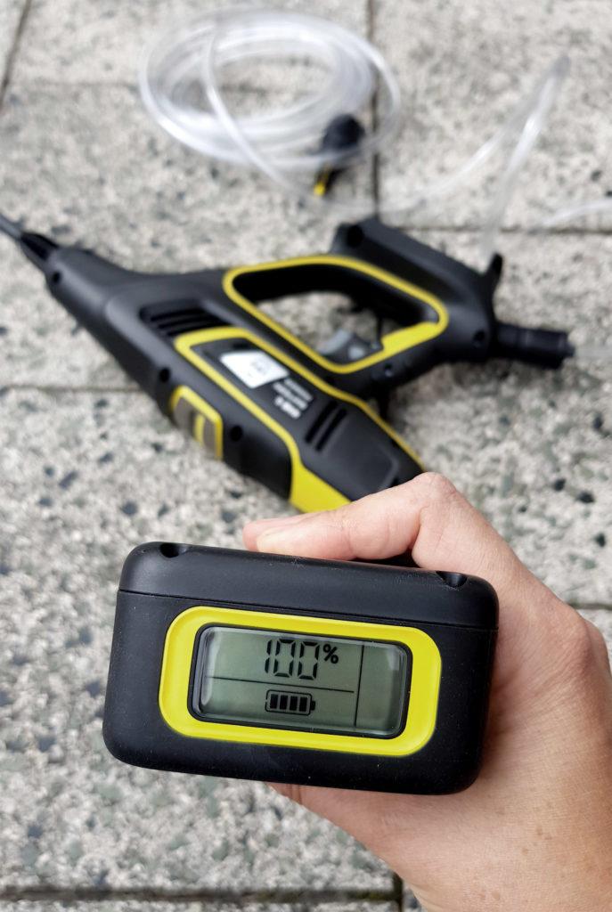 Kärcher Handheld Druckreiniger mit Akku