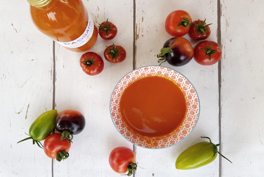 Passata die pomodoro - passierte Tomaten aus dem Garten