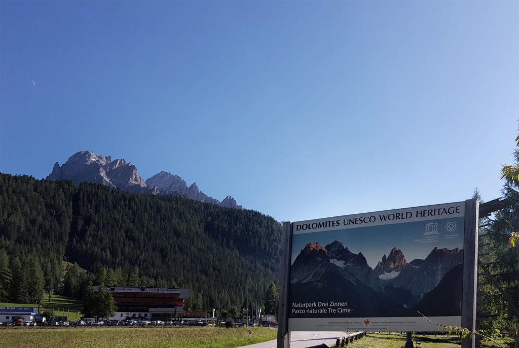 UNESCO Weltnaturerbe Drei Zinnen Dolomiten