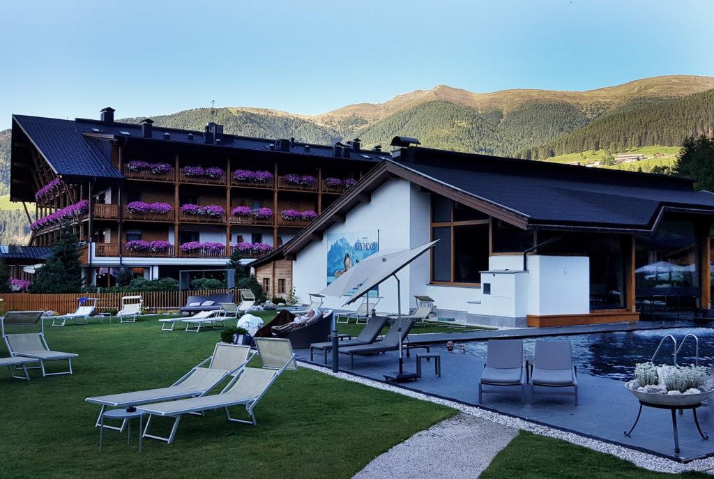 Bad Moos Dolomites Spa Außenpool