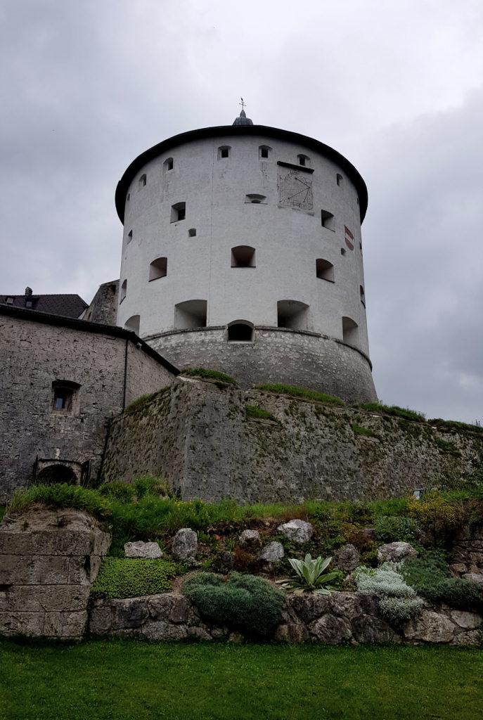 Kräutergarten in der Festung Kufstein