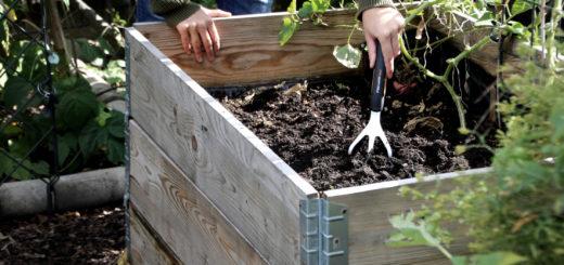 Gemüsebeete winterfest machen Hochbeet