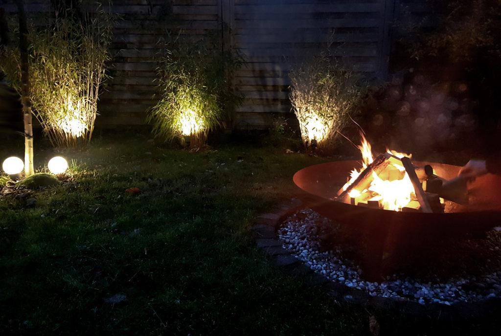 Gartenbeleuchtung mit BEGA Plug & Play