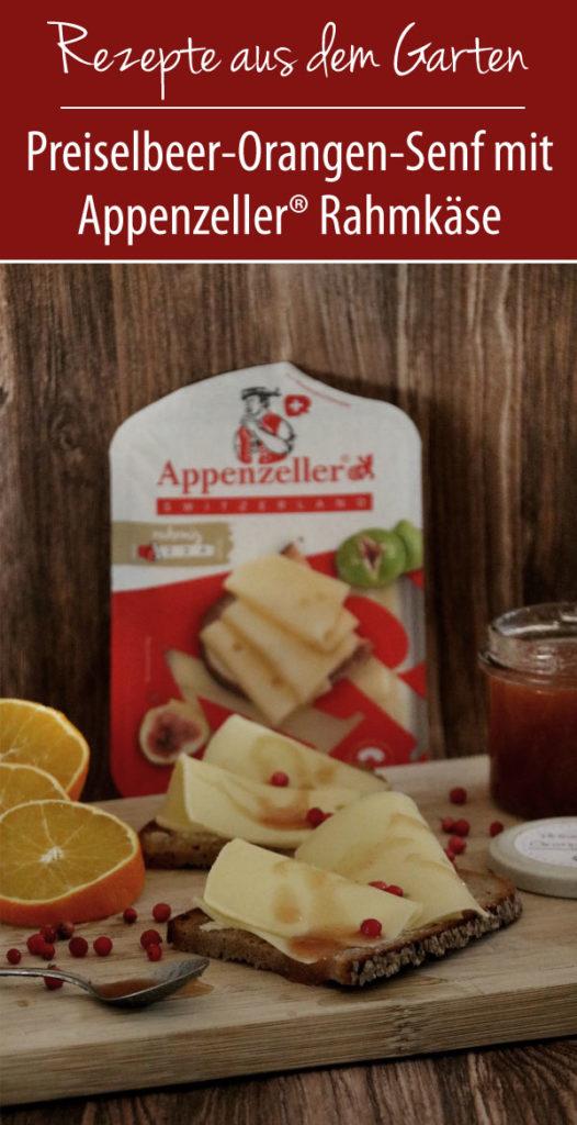 Preiselbeer-Orangen-Senf-mit-Appenzeller®-Rahmkäse
