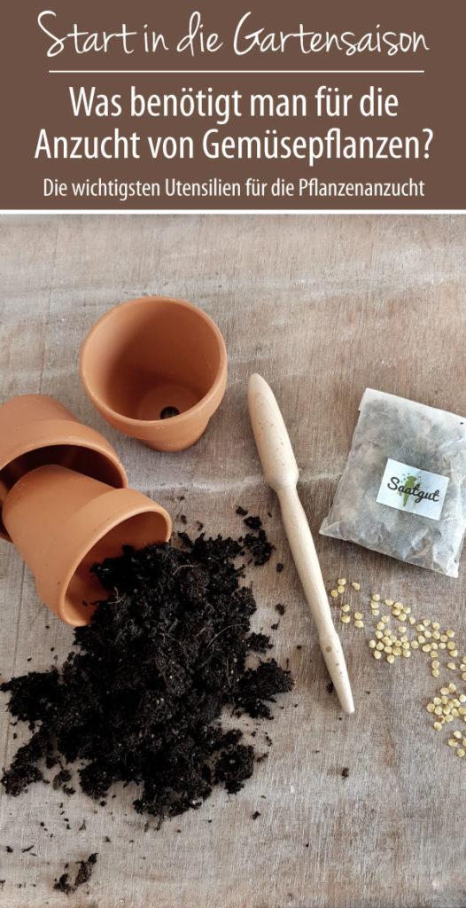 Die wichtigsten Utensilien für die Anzucht von Gemüsepflanzen