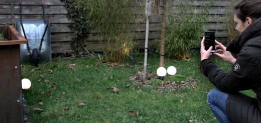 Zeitgesteuerte Gartenbeleuchtung BEGA Plug and Play