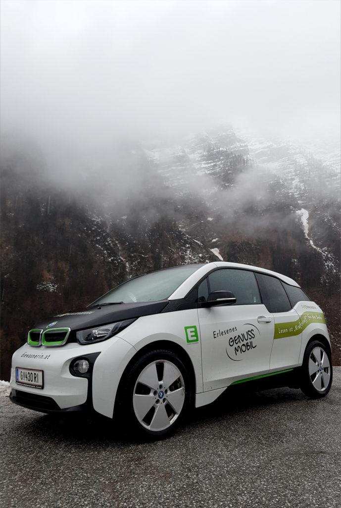 E-Mobil BMW i3 Genussmobil Wasnerin
