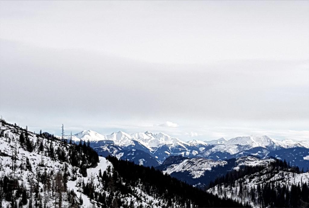 Tauplitzalm Alpenstrasse Skigebiet Steiermark Österreich