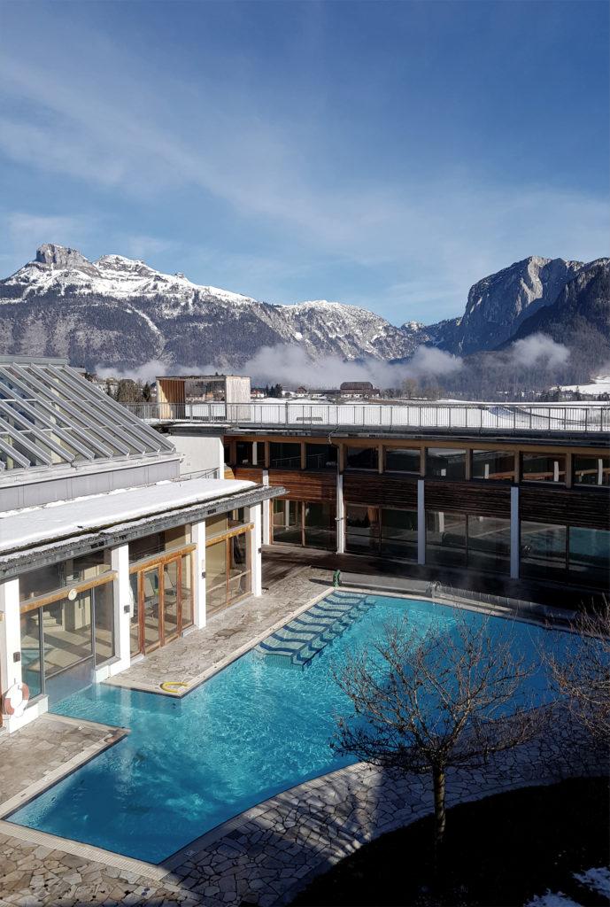 Poolbereich Auszeit im G'sund & Natur Hotel Die Wasnerin Steiermark Österreich