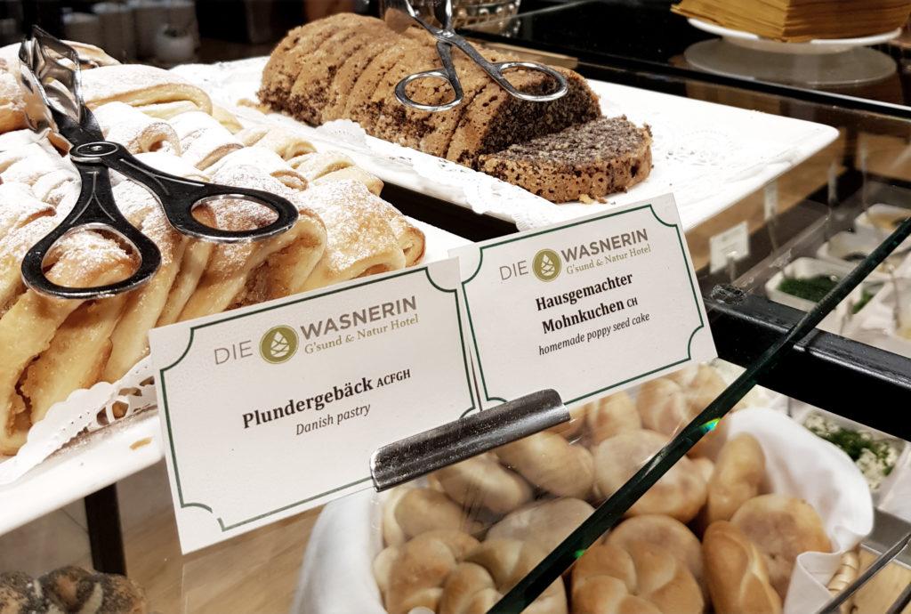 Selbstgebackener Mohnkuchen Spezialität Österreich