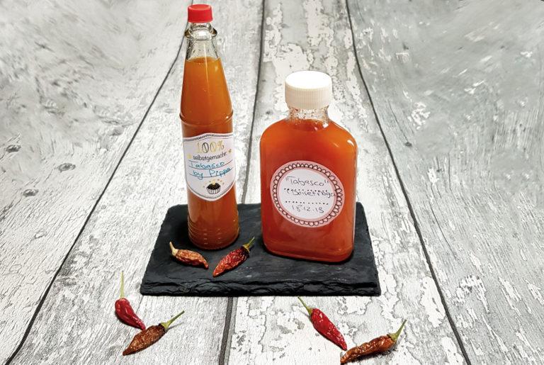 Tabasco selbstgemacht aus eigenem Anbau   Rezepte aus dem Garten