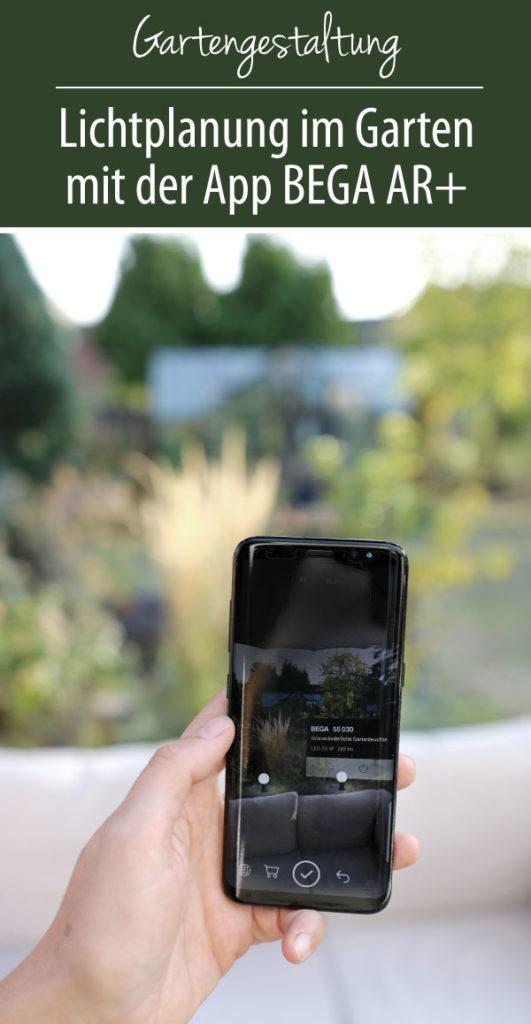 Lichtplanung im Garten mit der App BEGA AR+