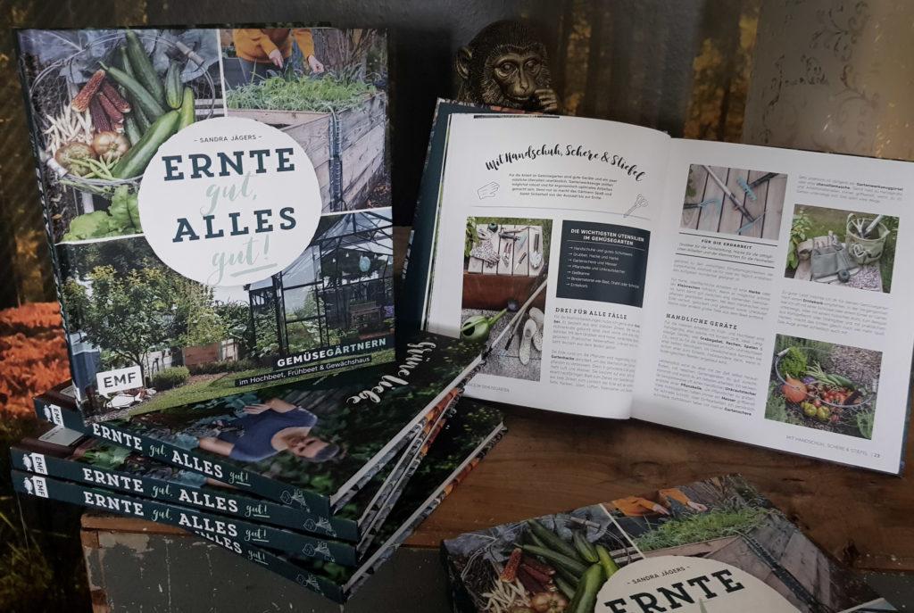 Ernte gut, alles gut! Gemüsegärtnern im Hochbeet, Frühbeet und Gewächshaus - Mein Gartenbuch
